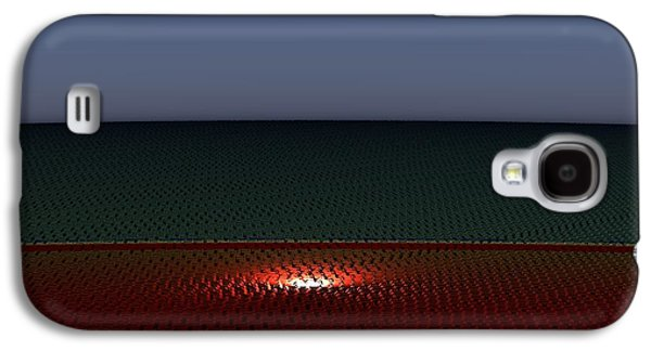 Tri Abstract Galaxy S4 Case by Peter R Nicholls