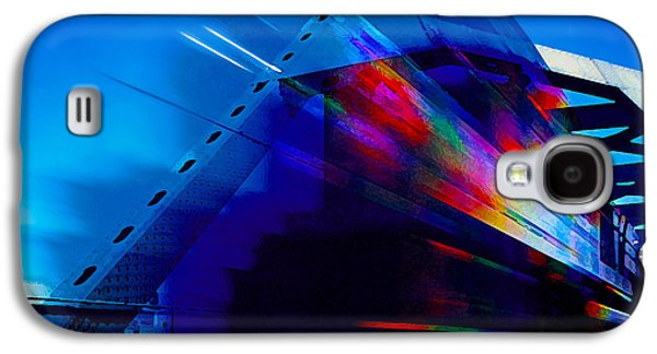 Transportation Photographs Galaxy S4 Cases - Tri-Color Train Galaxy S4 Case by Bill Caldwell -        ABeautifulSky Photography