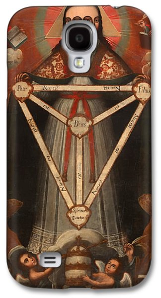Christian work Paintings Galaxy S4 Cases - Tri Facial Trinity Galaxy S4 Case by Mountain Dreams
