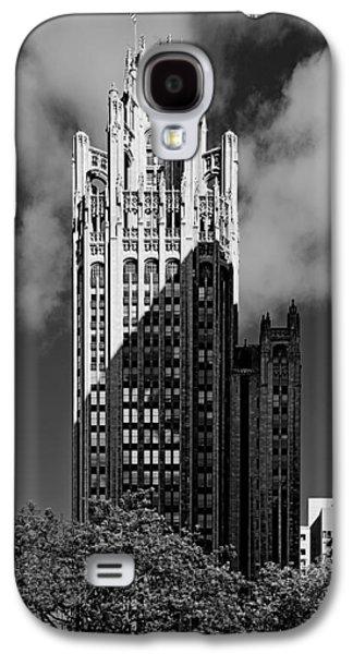 Multimedia Galaxy S4 Cases - Tribune Tower 435 North Michigan Avenue Chicago Galaxy S4 Case by Christine Till