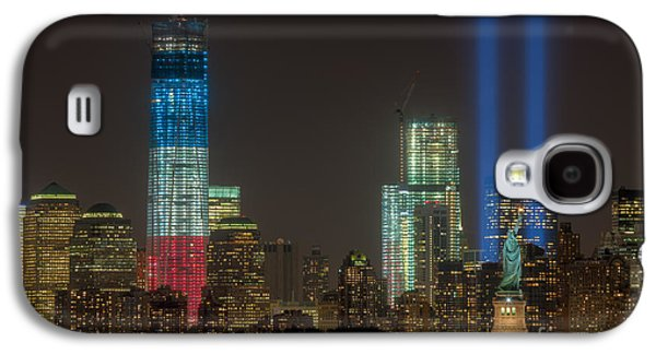 Wtc 11 Galaxy S4 Cases - Tribute in Light XIII Galaxy S4 Case by Clarence Holmes