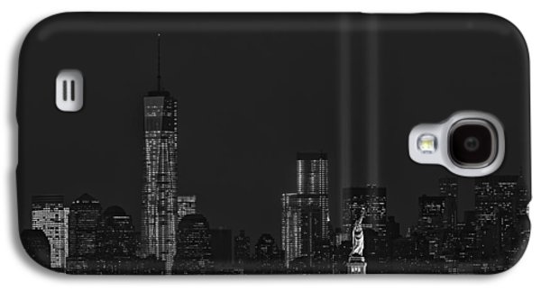 Freedom Galaxy S4 Cases - Tribute In Lights 2013 BW Galaxy S4 Case by Susan Candelario