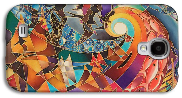 Frigates Paintings Galaxy S4 Cases - Tribute Galaxy S4 Case by Maria Rova