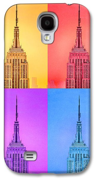 Evening Digital Galaxy S4 Cases - Tribute To Andy Warhol Galaxy S4 Case by Az Jackson