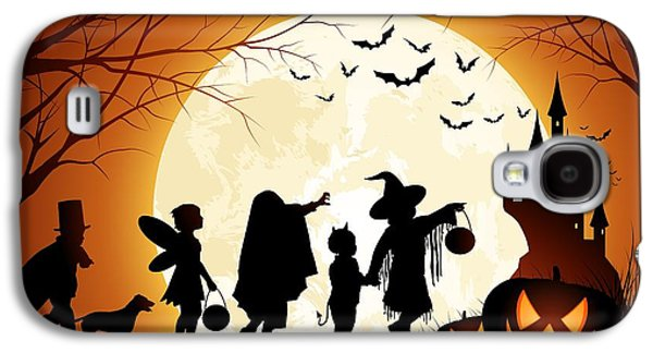 Trick Or Treat Galaxy S4 Case by Gianfranco Weiss