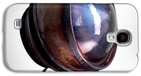 Iron Sculptures Galaxy S4 Cases - Trilogy Eye Galaxy S4 Case by Dennis Smiderle
