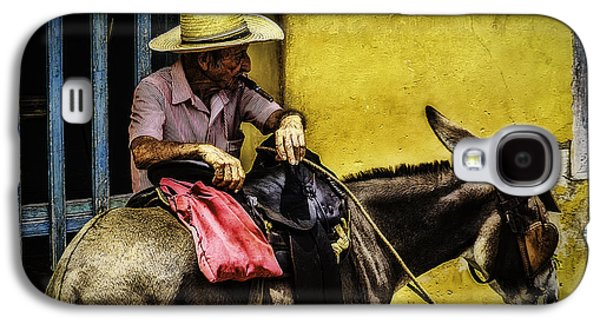 Colonial Man Photographs Galaxy S4 Cases - Trinidad in Color Part III - DonkeyBoy Galaxy S4 Case by Erik Brede