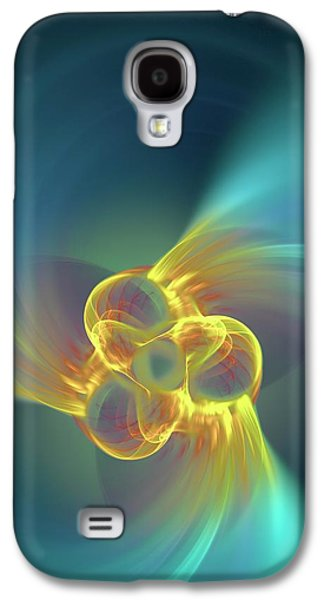 Triple Alpha Nuclear Fusion Galaxy S4 Case by David Parker