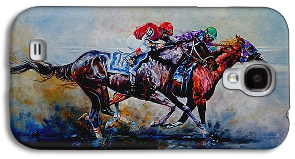 The Preakness Stakes Galaxy S4 Case by Hanne Lore Koehler