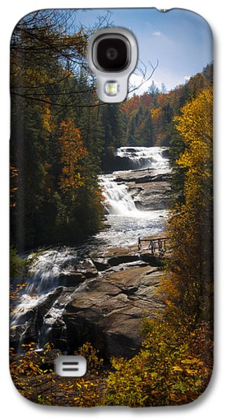 Tripple Galaxy S4 Cases - Triple Falls Galaxy S4 Case by Penny Lisowski