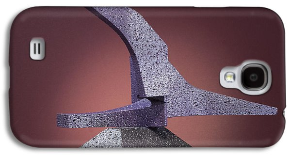 Colorful Abstract Sculptures Galaxy S4 Cases - Triple Play  Galaxy S4 Case by Richard Arfsten
