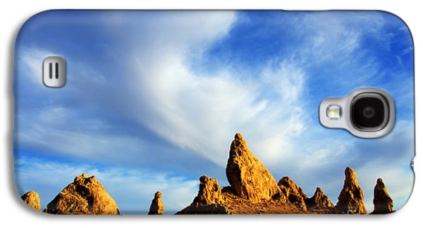 Dry Lake Galaxy S4 Cases - Trona Pinnacles California Galaxy S4 Case by Bob Christopher