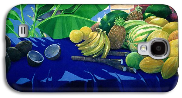 Tropical Fruit Galaxy S4 Case by Lincoln Seligman