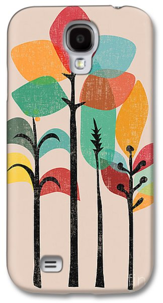 Modern Abstract Galaxy S4 Cases - Tropical Groove Galaxy S4 Case by Budi Satria Kwan
