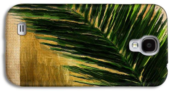 Tropical Palm Galaxy S4 Case by Lourry Legarde