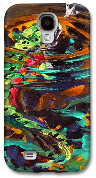 Stream Galaxy S4 Cases - Trout and Fly II Galaxy S4 Case by Savlen Art