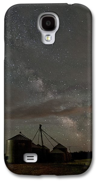 Contour Farming Galaxy S4 Cases - Troy Milky Way Galaxy S4 Case by Latah Trail Foundation