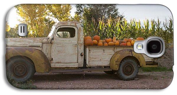 Pumpkin Time Galaxy S4 Case by Juli Scalzi