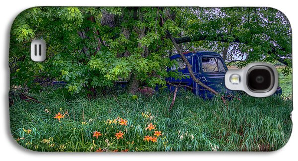 Truck In The Forest Galaxy S4 Case by Paul Freidlund