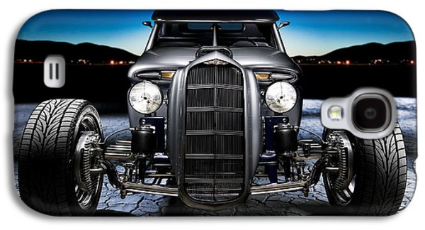 Dry Lake Galaxy S4 Cases - Millers Chop Shop 1964 Truckster Frontend Galaxy S4 Case by Yo Pedro