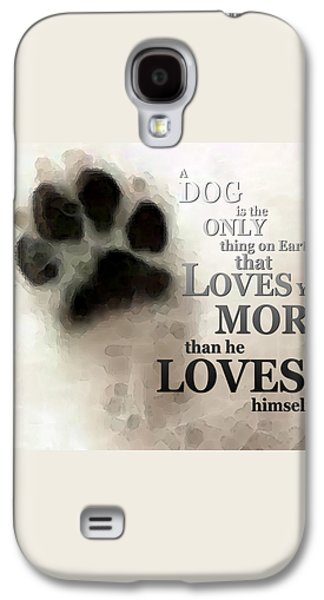 True Love - By Sharon Cummings Words By Billings Galaxy S4 Case by Sharon Cummings