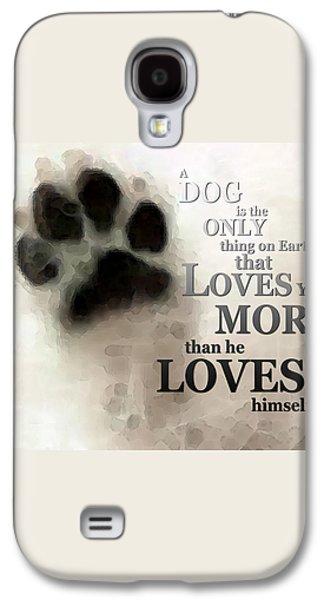 True Love - By Sharon Cummings Words By Billings Galaxy S4 Case by Sharon Cummings