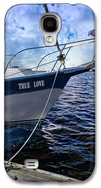 Sailboats At The Dock Galaxy S4 Cases - True Love Galaxy S4 Case by Debra and Dave Vanderlaan