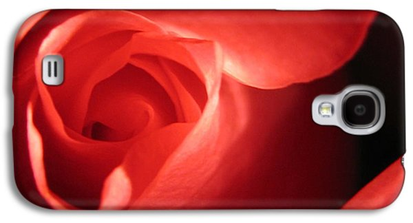 Floral Still Life Galaxy S4 Cases - True Love Galaxy S4 Case by Tracy Male