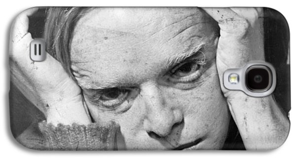 1950s Portraits Photographs Galaxy S4 Cases - Truman Capote Galaxy S4 Case by Mountain Dreams