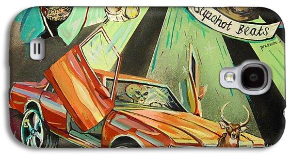 Eminem Paintings Galaxy S4 Cases - Trunk Muzik Returns Galaxy S4 Case by Britt Kuechenmeister