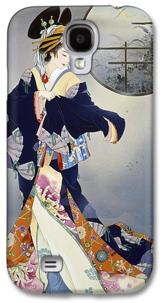 Evening Digital Galaxy S4 Cases - Tsukiakari Galaxy S4 Case by Haruyo Morita