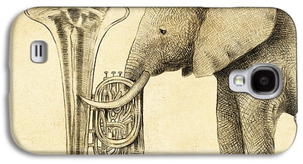 Tuba Galaxy S4 Case by Eric Fan