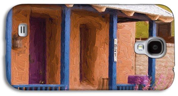 Carol Leigh Galaxy S4 Cases - Tucson 821 Barrio Painterly Effect Galaxy S4 Case by Carol Leigh