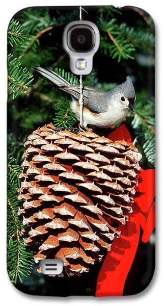 Tufted Titmouse (baeolophus Bicolor Galaxy S4 Case by Richard and Susan Day