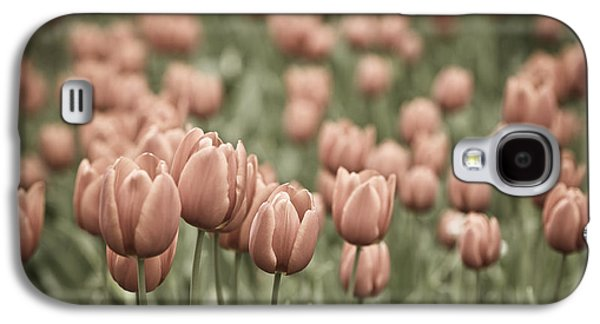 Garden Images Galaxy S4 Cases - Tulip Field Galaxy S4 Case by Frank Tschakert