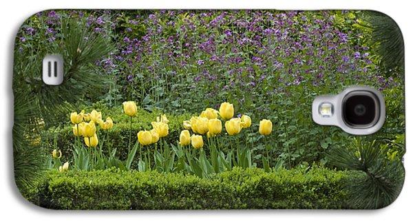 Garden Images Galaxy S4 Cases - Tulip Garden Galaxy S4 Case by Frank Tschakert