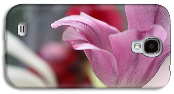 Tulip Whimsey Galaxy S4 Case by Jennifer Apffel