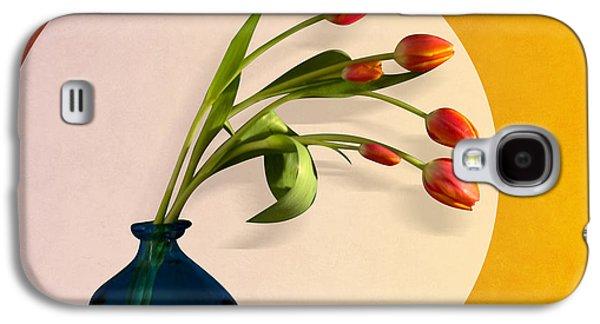 Orsillo Galaxy S4 Cases - Tulips 3 Galaxy S4 Case by Mark Ashkenazi