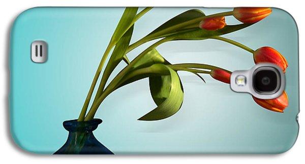 Orsillo Galaxy S4 Cases - Tulips 6 Galaxy S4 Case by Mark Ashkenazi