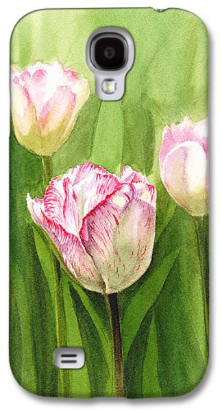 Mother Gift Galaxy S4 Cases - Tulips in the Fog Galaxy S4 Case by Irina Sztukowski