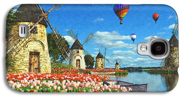 Tulips Of Amsterdam Galaxy S4 Case by Dominic Davison