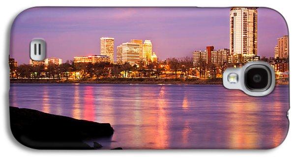 Tulsa Oklahoma - University Tower View Galaxy S4 Case by Gregory Ballos