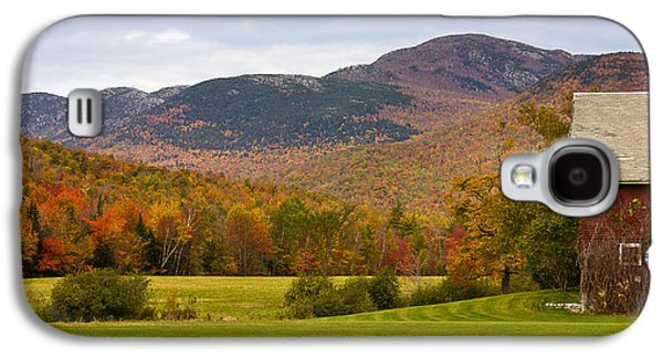 Maine Mountains Galaxy S4 Cases - Tumbledown Mountain in the Fall Galaxy S4 Case by Benjamin Williamson