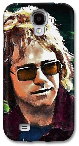 Elton John Galaxy S4 Cases - Tumbleweed Galaxy S4 Case by John Travisano
