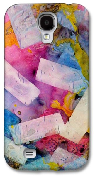 Boardroom Mixed Media Galaxy S4 Cases - Tumbling Down Galaxy S4 Case by David Raderstorf