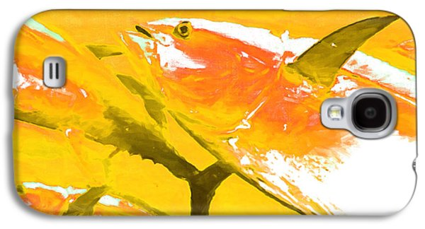 Schools Of Fish Galaxy S4 Cases - Tuna Fish m54 Galaxy S4 Case by Wingsdomain Art and Photography