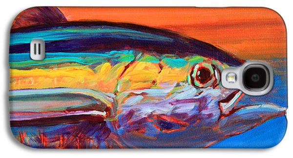 Flyfishing Galaxy S4 Cases - Tuna Portrait Galaxy S4 Case by Savlen Art