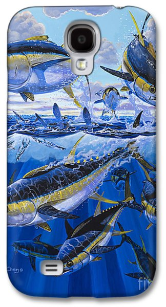 Wahoo Galaxy S4 Cases - Tuna rampage Off0018 Galaxy S4 Case by Carey Chen