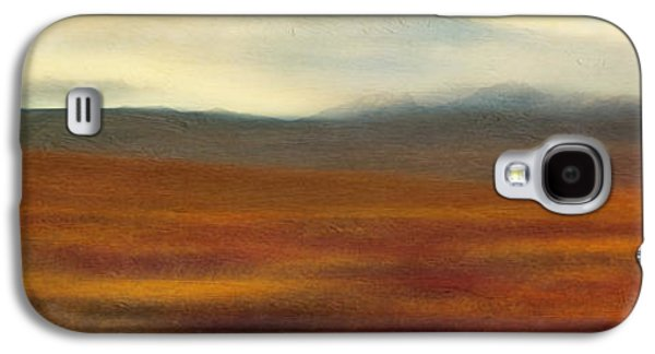 Nature Abstract Galaxy S4 Cases - Tundra autumn melody Galaxy S4 Case by Priska Wettstein