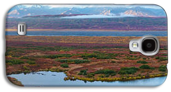 Pond In Park Galaxy S4 Cases - Tundra Landscape, Denali National Park Galaxy S4 Case by Panoramic Images
